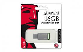 PENDRIVE 16GB KINGSTON DT50 USB 2.0 3.0 3.1
