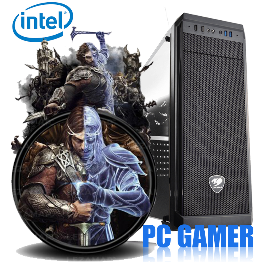 PC GAMER INTEL I3 8350K/1TB/8GB/550W GABGAME