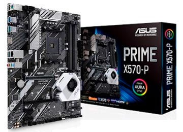 MOTHER ASUS PRIME X570-P RYZEN 3ERA ACTUALIZ.